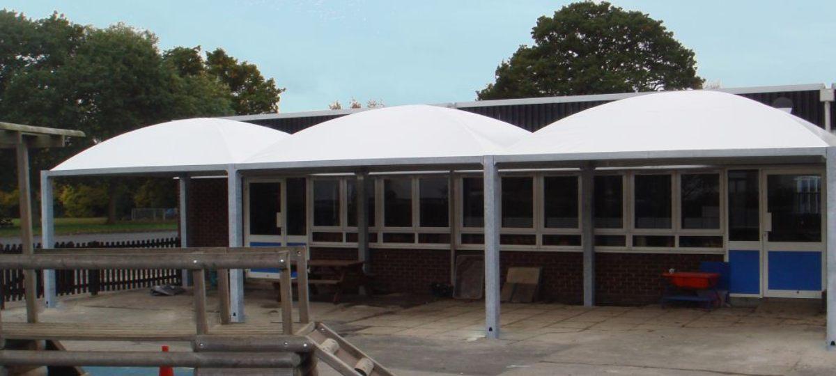 Domed Roof Tepee Canopies