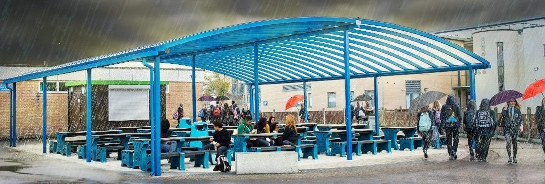 Three Of The Best Outdoor Dining Canopy Ideas for Schools
