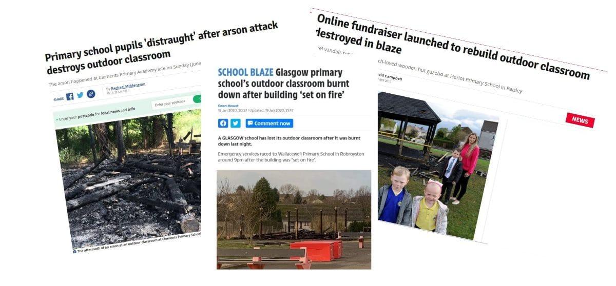 School Damage News Articles