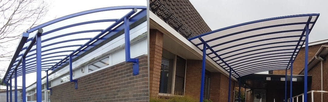 Should Schools Choose A Wall-mounted Or Freestanding Canopy?